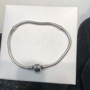 Pandora Sterling sliver snake bracelet